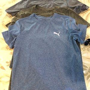 Boys puma shirts bundle of 5